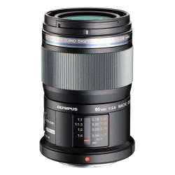 Objektīvi - Olympus M.ZUIKO DIGITAL ED 60mm 1:2.8 EM-M6028 black - perc veikalā un ar piegādi