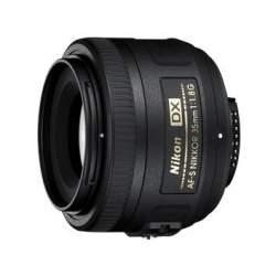 Объективы - Nikon 35/1.8G AF-S Nikkor DX 35mm lens - купить сегодня в магазине и с доставкой
