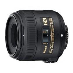 Objektīvi - Nikon 40/2.8G AF-S Micro Nikkor ED lens - ātri pasūtīt no ražotāja