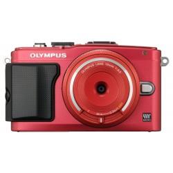 Objektīvi - Olympus Objektīvs Body Cap Lens 15mm 1:8.0 BCL-1580 red - ātri pasūtīt no ražotāja