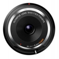 Objektīvi - Olympus Objektīvs Body Cap Lens 9mm 1:8.0 fisheye BCL-0980 black - ātri pasūtīt no ražotāja