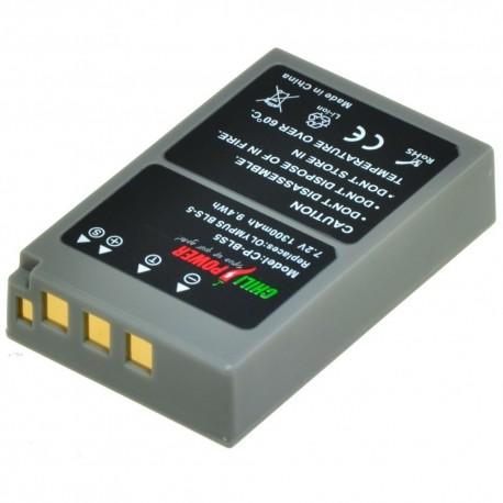 Kameras akumulatori - Olympus akumulators BLS-50 - perc šodien veikalā un ar piegādi