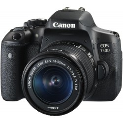 Photo DSLR Cameras - CANON EOS 750D 18-55 IS KIT - quick order from manufacturer
