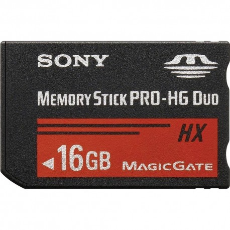 Memory Cards - Sony 16GB Memory Stick Pro-HG Duo HX MSHX16B/MN - quick order from manufacturer