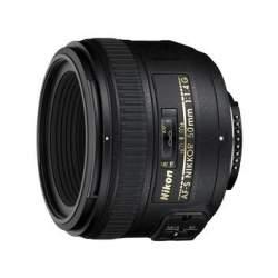 Объективы - Nikon AF-S NIKKOR 50mm f/1.4G - купить сегодня в магазине и с доставкой