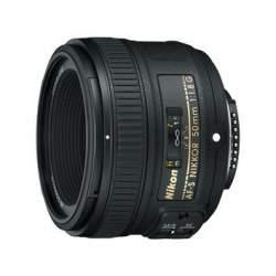 Объективы - Nikon 50 mm 1.8G AF-S Nikkor AF 50mm F1.8G - купить сегодня в магазине и с доставкой