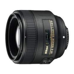 Объективы - Nikon AF S Nikkor 85mm f 1.8G - купить сегодня в магазине и с доставкой