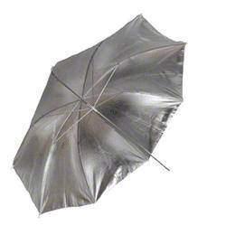 Jaunas preces - Walimex lietussargs 84 cm atstarojosais sudrabs - ātri pasūtīt no ražotāja