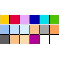 Reflektori - LEE filtru komplekts 18 veidi 24 loksnes 25x30cm - perc veikalā un ar piegādi