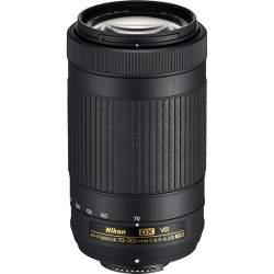 Объективы - Nikon AF-P DX NIKKOR 70-300mm f/4.5–6.3G ED VR - купить сегодня в магазине и с доставкой