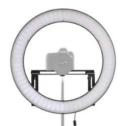 Video LED - Falcon Eyes LED Ring Lamp Dimmable DVR-512DVC on 230V - perc veikalā un ar piegādi