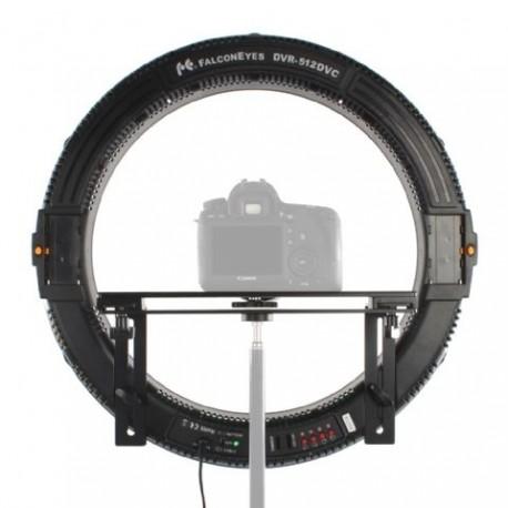 """""""Ring"""" pastāvīgā gaisma - Falcon Eyes LED Ring Lamp Dimmable DVR-512DVC on 230V - perc šodien veikalā un ar piegādi"""
