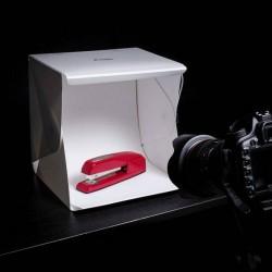 Световые кубы - Mini gaismas kaste ar LED gaismām, baltu un melnu fonu PS-01 - купить сегодня в магазине и с доставкой