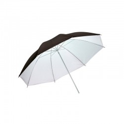 Umbrellas - Metz umbrella UM-80 BW, black/white - buy today in store and with delivery