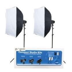Komplekti - Falcon Eyes studijas gaismu komplekts SSK-2200D 290018 - perc veikalā un ar piegādi