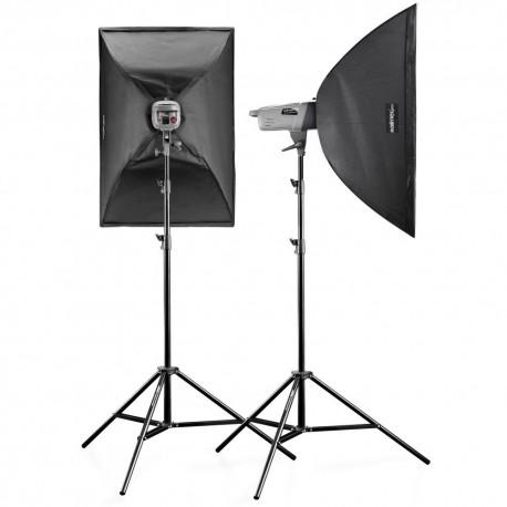 Komplekti - walimex pro Studio Set VE-150 XL Excellence 20034 - ātri pasūtīt no ražotāja