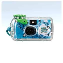 Filmu kameras - FUJIFILM QuickSnap MARINE, waterproof (10m), single-use camera 800/135/27 - perc šodien veikalā un ar piegādi