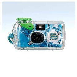 Kompaktkameras - FUJIFILM QuickSnap MARINE, waterproof (10m), single-use camera 800/135/27 - perc šodien veikalā un ar piegādi