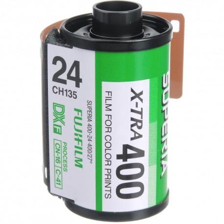 Фото плёнки - Fuji Superia X-TRA 400 35mm 36 exposures - купить сегодня в магазине и с доставкой