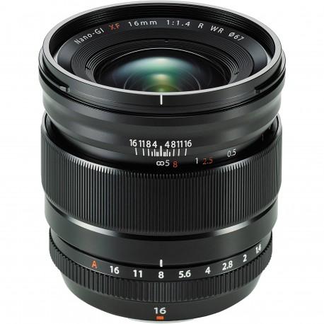 Objektīvi - FUJIFILM Lens Fujinon XF16mm F1.4 R WR - perc šodien veikalā un ar piegādi