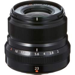 Objektīvi - Fujifilm Fujinon XF 23mm f/2.0 R WR objektīvs, melns - perc šodien veikalā un ar piegādi