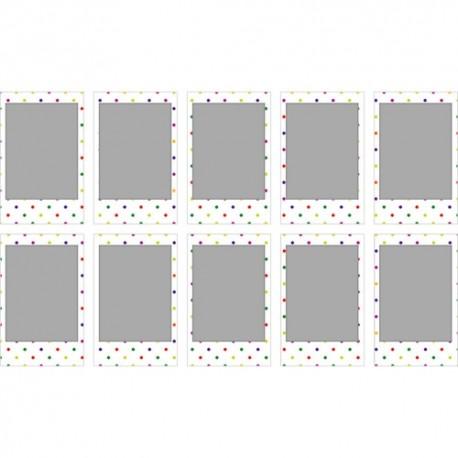 Картриджи для инстакамер - FUJIFILM Colorfilm instax mini CANDYPOP (10PK) - купить сегодня в магазине и с доставкой