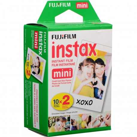 Film for instant cameras - FUJIFILM Colorfilm instax mini GLOSSY (10X2/PK) - buy today in store and with delivery