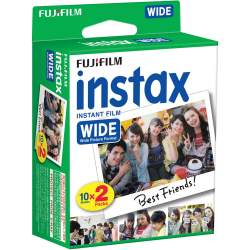 Film for instant cameras - FUJIFILM Colorfilm instax WIDE GLOSSY (10x2) - buy today in store and with delivery