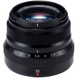 Objektīvi - FUJIFILM Lens Fujinon XF35mm F2 R WR Black - perc šodien veikalā un ar piegādi
