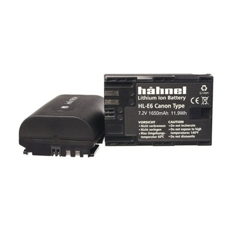 Kameru akumulatori - HÄHNEL DK BATTERI CANON HL-E6 LP-E6 - perc šodien veikalā un ar piegādi
