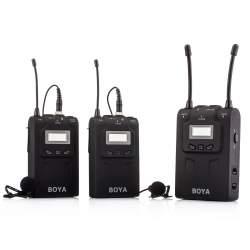 Mikrofoni - Boya UHF Dual Lavalier Microphone Wireless BY-WM8 - perc veikalā un ar piegādi