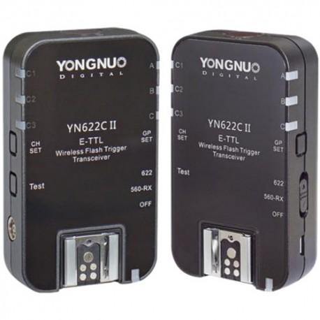 Radio palaidēji - Yongnuo YN-622C II E-TTL radio zibspuldzes palaidējs - perc šodien veikalā un ar piegādi
