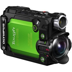 """Action cameras - TG-Tracker Green - 7.2 MP backlit CMOS, 204° ultra-wide angle lens, 1.5"""" 115, - quick order from manufacturer"""