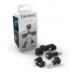 GoPro Stiprinājumi - stiprinājums Qudos MOUNT BRACKETS - buy in store and with delivery