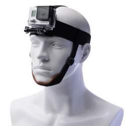 GoPro Stiprinājumi - Galvas stiprinājums GoPro kamerai ar zoda siksniņu - perc veikalā un ar piegādi