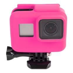 Action kameru aksesuāri - GoPro Hero 5 silikona apvalks (lietošanai ar Frame) - perc šodien veikalā un ar piegādi