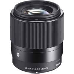 Objektīvi - Sigma 30mm F1.4 DC DN Sony E-mount - perc šodien veikalā un ar piegādi