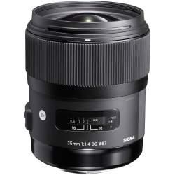 Объективы - Sigma 35mm F1.4 DG HSM Art Canon EF mount - купить сегодня в магазине и с доставкой