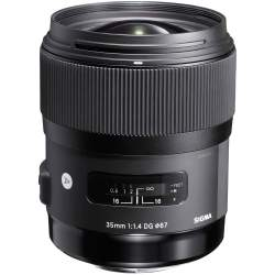 Lenses - Sigma 35mm F1.4 DG HSM Canon [ART] - buy today in store and with delivery