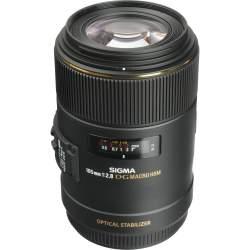 Объективы - Sigma 105мм f/2.8 EX DG OS HSM Macro объектив для Canon 258954 - купить сегодня в магазине и с доставкой