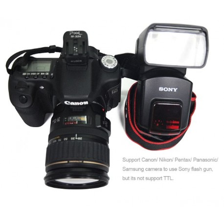 Acessories for flashes - Pixel Hotshoe Adapter TF-324 for Sony Camera Speedlite Flash Guns - quick order from manufacturer