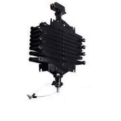 Sliežu stiprināšanas sistēmas - Falcon Eyes pantogrāfa griestu sistēma #3360C arums 32- 200cm, max kravnesība 6.5kg Nr.295755 - perc šodien veikalā un ar piegādi