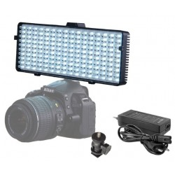 On-camera LED light - Linkstar Bi-Color LED Lamp VD-6 incl. Battery - quick order from manufacturer