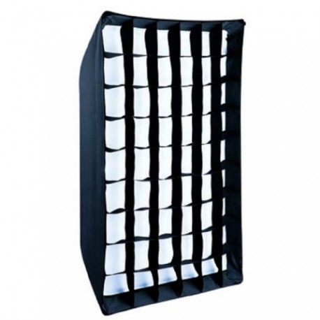 Софтбоксы - Falcon Eyes Softbox 80x120 cm + Honeycomb Grid SBQ-80120HC - быстрый заказ от производителя