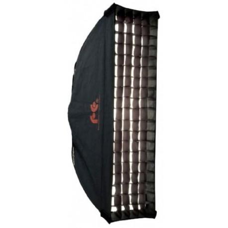 Софтбоксы - Falcon Eyes Softbox 30x120 cm + Honeycomb Grid FER-SB30120HC - быстрый заказ от производителя