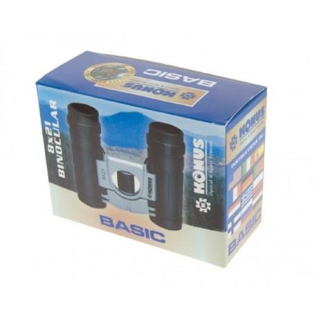 Бинокли - Konus Binoculars Basic 8x21 - быстрый заказ от производителя
