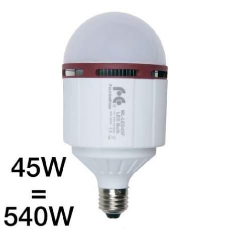 Video LED - Falcon Eyes ML-LED45F led spuldze E27 293076 - ātri pasūtīt no ražotāja