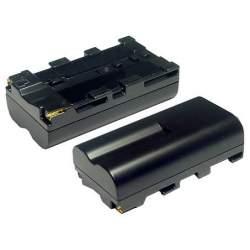 Kameras akumulatori un gripi - NP-F550 Li-Ion baterija SONY tipa, 2200mAh - perc veikalā un ar piegādi