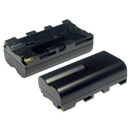 Kameru akumulatori - NP-F550 Li-Ion baterija SONY tipa, 2200mAh - perc šodien veikalā un ar piegādi