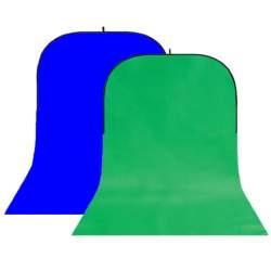 Foto foni - StudioKing Background Board BBT-10-07 Green/Blue 150x400 cm - ātri pasūtīt no ražotāja